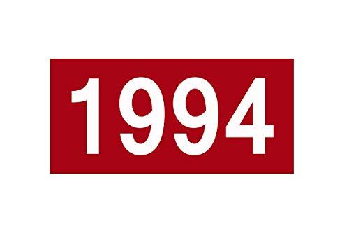 Capilene Shirt Für Herren (1980 Summer Short Sleeve T-Shirt Large Size Digital Year diy1981-2018 Casual Fashion Harajuku Tops tees T-Shirt 1994 M)
