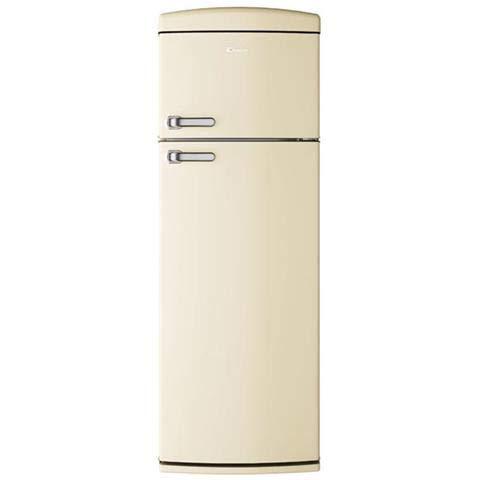Candy Doppelkühlschrank CVRDS 6174W Statisch belüftet, Energieklasse A++ Creme -