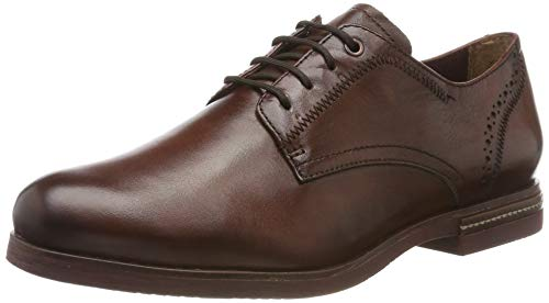 Tamaris Damen 1-1-23208-23 Derbys, Braun (Chestnut 449), 38 EU