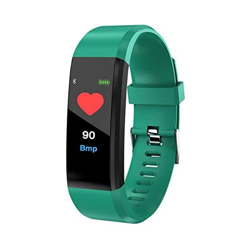 FBN Smart Watch Armband Gesundheit Herzfrequenz Blutdruck Tracker Fitness Bluetooth Ehre Fitbits Männer,E