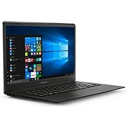 """Medion MD61339 - Ordenador portátil 14"""" FullHD (Intel Atom x5-Z8350, 4GB RAM, 32GB de almacenamiento (ampliables con tarjeta de memoria SD) Intel Graphics, Windows10) Gris - Teclado QWERTY español"""