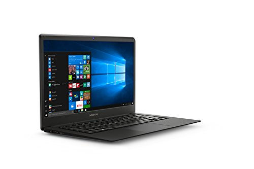 MEDION MD61339 - Ordenador portátil de 14' Full HD (Intel Atom x5-Z8350, RAM de 4 GB DDR3, Disco Flash de 32 GB, Intel Graphics, Windows 10 Home) Plata negro oscuro