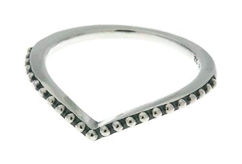 Pandora Ring Perlenförmiger Wunsch Gr 48