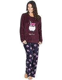 BrandBuys® Ladies Soft & Cosy Fleece Pyjamas