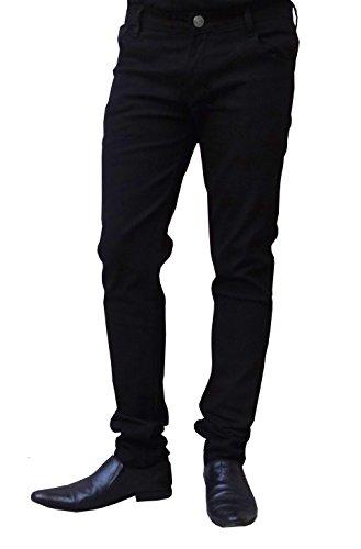 Ben-Carter-Mens-Stretchable-Slim-Fit-Casual-Wear-Black-Jeans