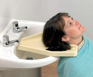 Homecraft - vassoio per lavare capelli in lavandino
