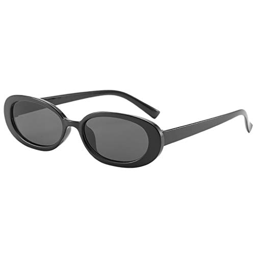 TTLOVE Unisex Fashion Small Frame Sunglasses Vintage Retro Irregular Shape Sun Glasses Sonnenbrillen FüR MäNner Und Frauen Kuhfarbe Leichte Bequeme (Mehrfarbig6)