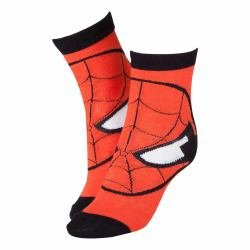 Marvel cr115907spn-39/42Spiderman Maske rot Socken (Größe (2 Amazing Man The Spider Maske)