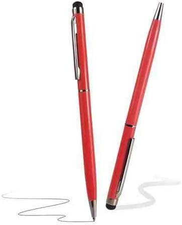 C63 ® – Rouge 2 2 2 en 1 Stylet pour écran tactile et stylo bille pour Yu yuphoria yu5010 Téléphone portable 99772f