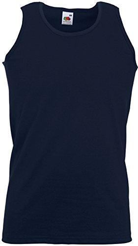 Fruit of the Loom Athletic Unterhemd Farbe navy Größe 2XL
