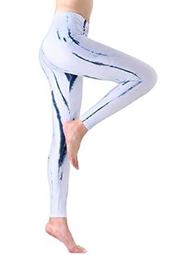 Yoga Hosen Damen, DoraMe Frauen Fitness Bewegung Athletischen Hosen Training Tree Drucken Yoga Leggings
