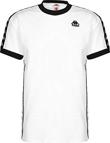 Kappa Herren Shirt Banda Bismal weiß L