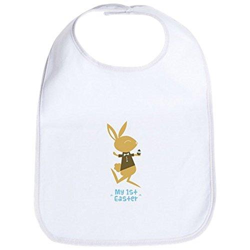 CafePress Baby Boy 's First Ostern Bunny Lätzchen–Standard Kiwi [Apparel] GI... (Gi-lätzchen)
