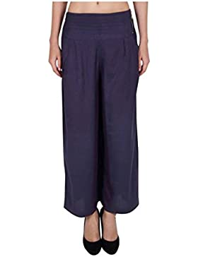 Indian Handicrfats Export Sweekash Regular Fit Women Blue Trousers