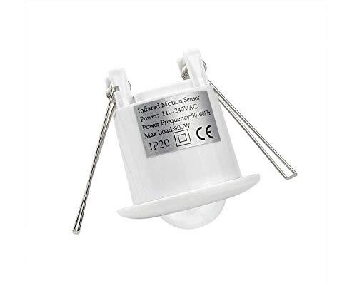 Lichtac110-240V Pir Schalter 360 Grad Sensor Motion Sensing Einbau Infrarot Decke Induktionsschalter Glühbirnen Led Lampe