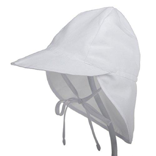 Boomly Baby Sonnenhut Schirmmütze mit Nackenschutz Anti-UV Hut Baumwolle...