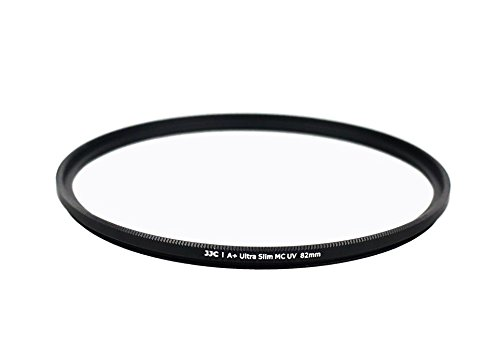 Ares Foto® 82mm Filtre de protection • Verre optique importé du Japon • Cadre en aluminium de haute qualité • Ultra slim pour Sigma 24-70mm F2,8 DG OS HSM | Art