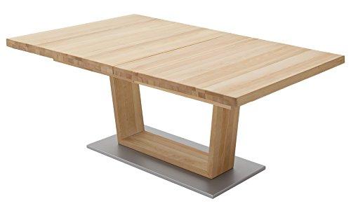 Robas Lund, Tisch, Esszimmertisch, Cantania A, Buche teilmassiv, 140 x 90 x 77 cm, CAN14AKB