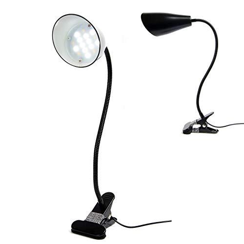 Weihnachtsgeschenk Kreative USB-Schnittstelle LED Augenschutz Tischleuchte Piano Work Clip Light Black