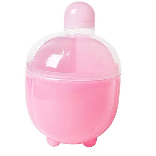 Zgsjbmh Milchpulver-Spender Powder Formula Dispenser und Snack Cup, Pink für Babys Box mit Milchpulver (Farbe : Rosa) - Powder Formula Dispenser