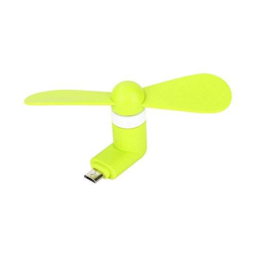 Westeng Mini Eléctrico Ventilador Micro USB para Teléfono Móvil Android Portátil Fan...