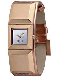 D&G Dolce&Gabbana Damen-Armbanduhr DANCE LDY IP ROSE SLV DIAL ROSE STRAP DW0271