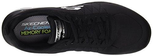 Skechers Flex Advantage 2.0, Chaussures Multisport Outdoor Homme Noir (Blk)