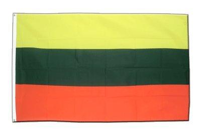 Litauen Flagge, litauische Fahne 60 x 90 cm, MaxFlags®