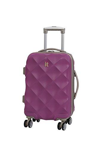 it luggage Debossed Diamond Koffer, 55 cm, 45 liters, Pink (Dahlia Mauve)