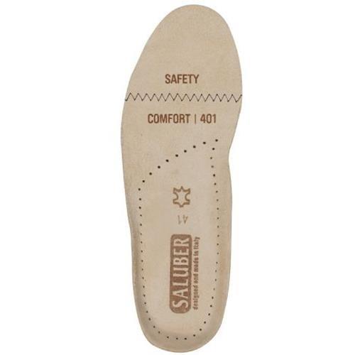 SALUBER Sicherheit Komfort Einlagen | antistatisch ESD Strip | Anatomisches Komfort | aus echte, natürliche Leder & entworfen in Italien, 4.0100000001e+011 (Turnschuhe Support-komfort Arch)