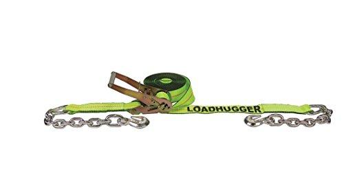 Preisvergleich Produktbild Liftall TE61013 Ratchet Assembly TE Chain Anchor, 2 x 27', #10000 Load Hugger Tuff-Edge Tiedown, 10.0 Length, 6.0 Width by Lift All