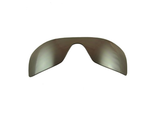 Oakley Batwolf Repl. Lens Kit, Positive Black Iridium Polarized
