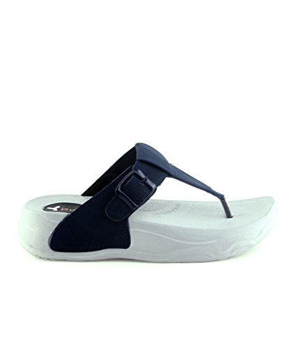 Pure-Hf-26 Navy Flats For Womens
