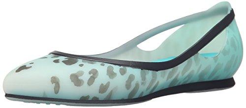 Crocs Rio Leopard Fade W Flat Pool/Pool
