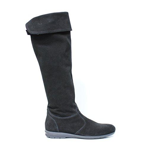 NERO GIARDINI ART. A005063D-100 chaussure en cuir noir A0 05063 D