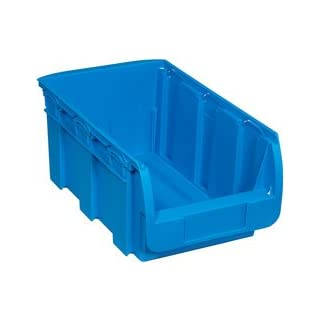 Allit 456440Profiplus Bin Storage Compact 4, Polypropylene, Blue