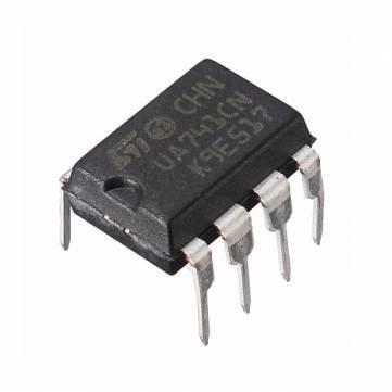 10Pcs UA741CN DIP-8 UA741 LM741 ST IC Chip-Operationsverstärker Acc-wireless-kit