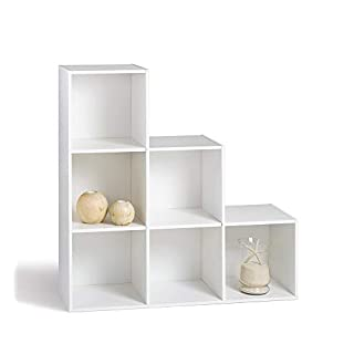 Alsapan Shelving Unit, Wood, white, 30x 93x 93cm