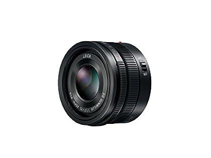 Panasonic H-X015E-K - Objetivo para micro cuatro tercios (diámetro de 46 mm, distancia focal de 15 mm, apertura de 1.7), color negro