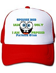 Spongebob QUOTES Nylon Adult Baseball Cap Trucker Hat