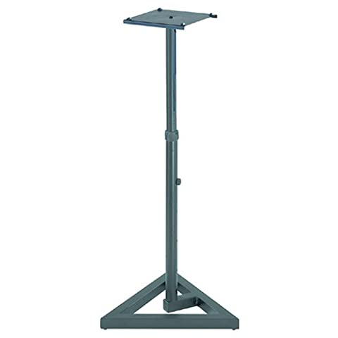 Quik Lok BS/300 Straight Monitor Stand with Single Adjustable Height Column
