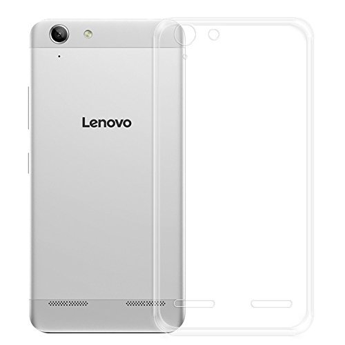 eCosmos EC-LNK5 Branded Perfect Fitting High Quality Ultra Thin Transparent Silicon Back Cover for Lenovo Vibe K5 / Lenovo Vibe K5 Plus(Transparent)