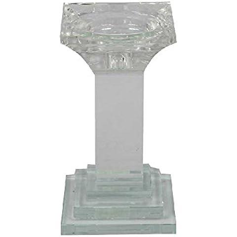 Stemma reale vetro trasparente, 18cm