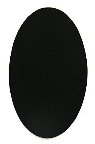 6 rodilleras color Negro termoadhesivas plancha. Coderas