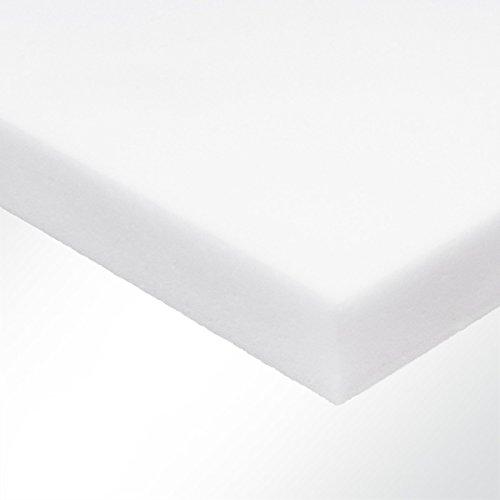 Basotect Schall-Absorber aus Schaumstoff Schalldämmung Schallschutz Raumakustik 500x40x1000mm Weiß
