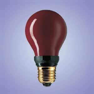 Dr Fischer - E27 LAMPE INACTINIQUE ROU CHAMBRE NOIRE 230V 15W PF712 Dr FISCHER