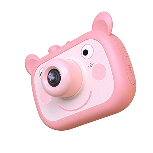 SMEJS Kinder-Digitalkamera 2,0-Zoll-IPS-Bildschirm Bildschirm Mini wiederaufladbare Toy Kamera Geschenke for Kid Boys & Girls Alter 4-12 Kind Selfie Kamera Camcorder (Color : D)