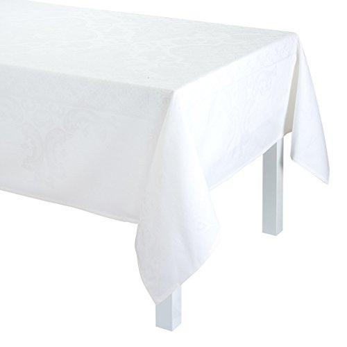 Nappe Azulejos Blanc 175x250 100% coton