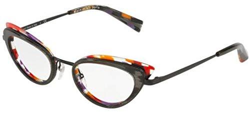Alain mikli occhiali da vista pavee 0a02029 black pontille donna