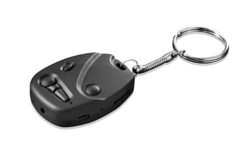 Hyundai Sir Snap HD Minivideokamera im Autoschlüsselformat (3 Megapixel, 1280x720 Pixel, microSD-Kartenslot, 280mAh, USB) (Micro Spy Gps)